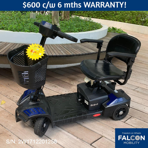 Pre-Owned Scout 4-Wheel Mobility Scooter