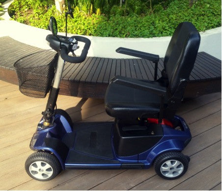 refurbished pride revo 4 wheel mobility scooter for sale falcon mobility used scooter store. Black Bedroom Furniture Sets. Home Design Ideas