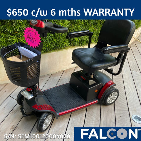 Refurbished Budget-Lite 4-Wheel Mobility Scooter