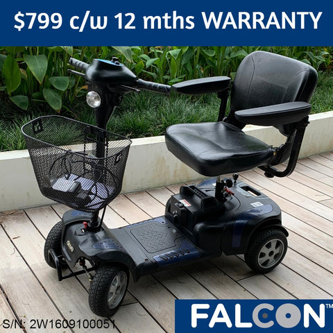 Refurbished Phoenix HD 4-Wheel Mobility Scooter c/w 6 months WARRANTY
