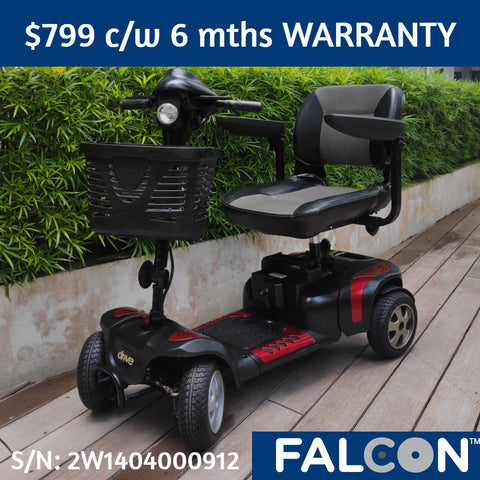 Refurbished Phoenix HD 4-Wheel Mobility Scooter