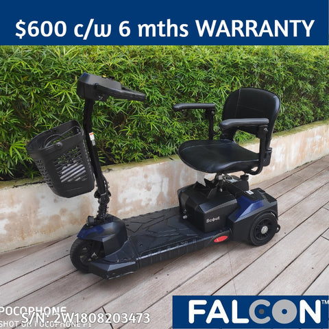 Refurbished Scout 3-Wheel Mobility Scooter