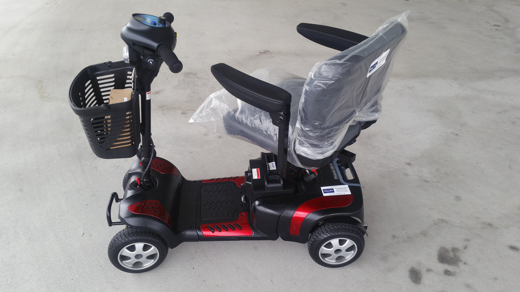 refurbished phoenix hd 4 wheel mobility scooter for sale display set falcon mobility used. Black Bedroom Furniture Sets. Home Design Ideas