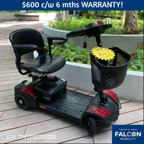 Refurbished Scout 4-Wheel Mobility Scooter