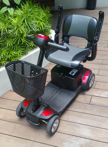Refurbished Spitfire 4-Wheel (20 AH) Mobility Scooter for Sale (Display Set)