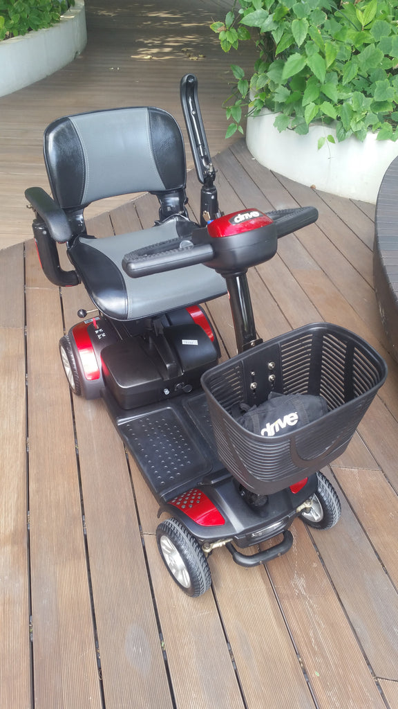 refurbished spitfire 4 wheel mobility scooter for sale falcon mobility used scooter store. Black Bedroom Furniture Sets. Home Design Ideas