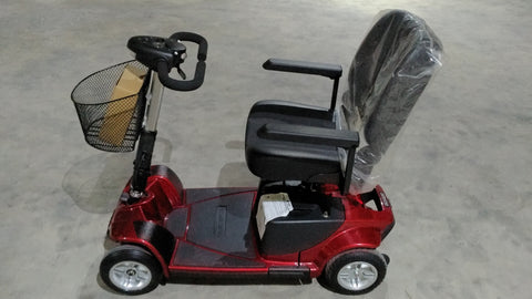 Brand New Revo 4-Wheel Mobility Scooter (RED) for Sale