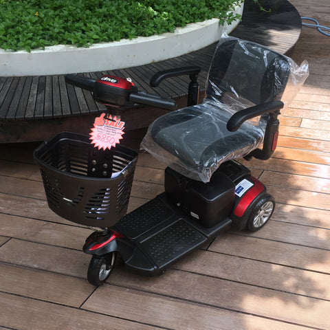 Pre-Loved Spitfire 3-Wheel Mobility Scooter - $850
