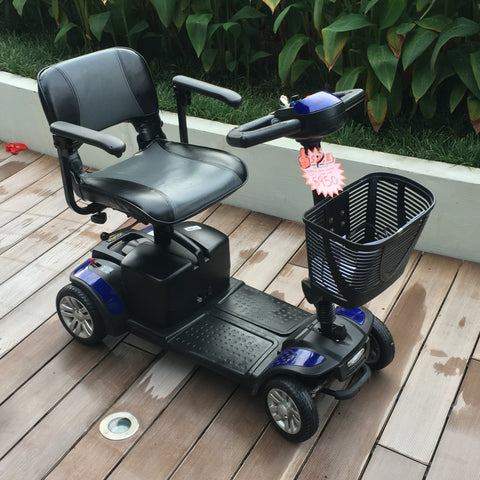 Pre-Loved Spitfire 4-Wheel Mobility Scooter - $950