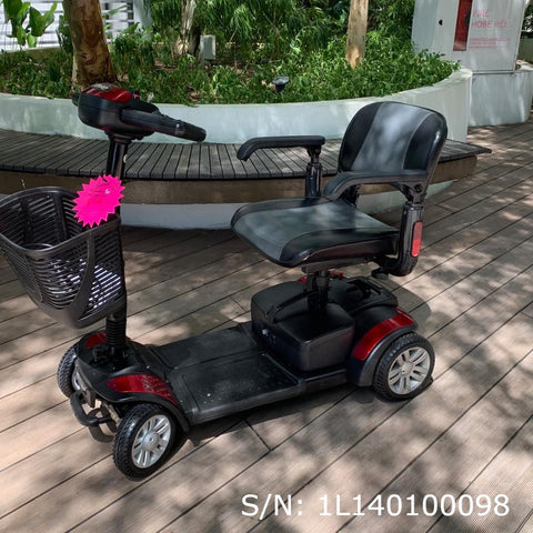 Pre-Owned Spitfire 4-Wheel Mobility Scooter - $700