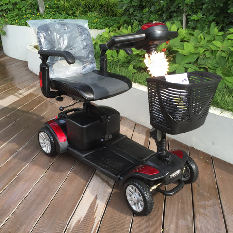 Refurbished Spitfire 4-Wheel Mobility Scooter (Red) for Sale