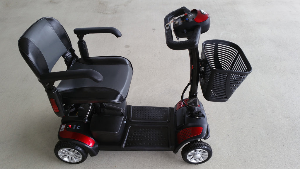 refurbished spitfire 4 wheel mobility scooter for sale display set falcon mobility used. Black Bedroom Furniture Sets. Home Design Ideas