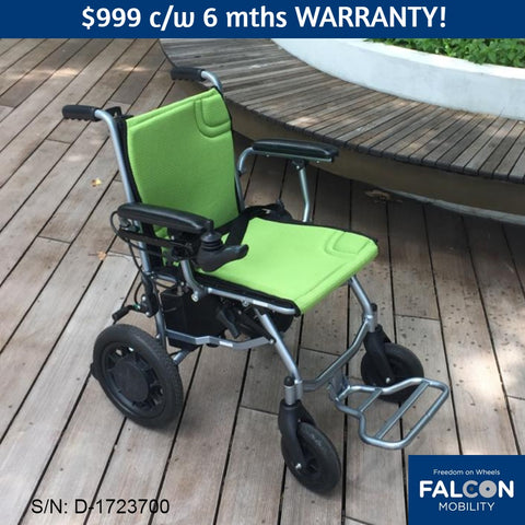 "Used Ultra-Lite ""A"" Electric Wheelchair"