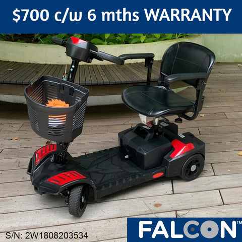 Used Scout 4-Wheel Mobility Scooter