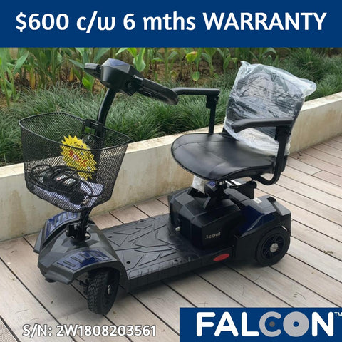 Used Scout 4-Wheel Mobility Scooter c/w 6 months WARRANTY