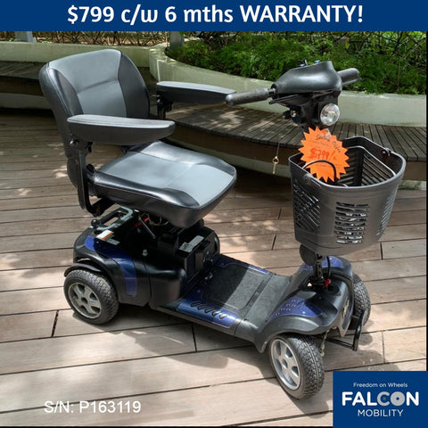 Used Phoenix HD 4-Wheel Mobility Scooter