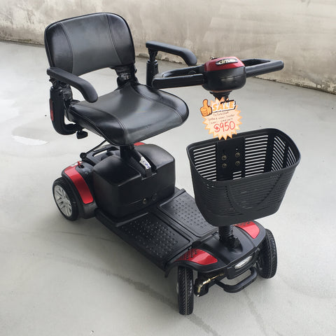 Used Spitfire 4-Wheel Mobility Scooter (20 km range)