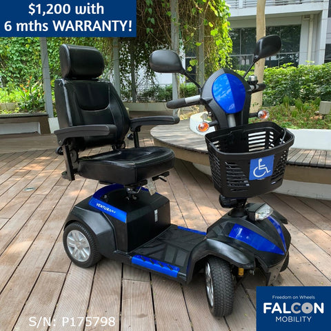 Used Ventura 4-Wheel Large Mobility Scooter