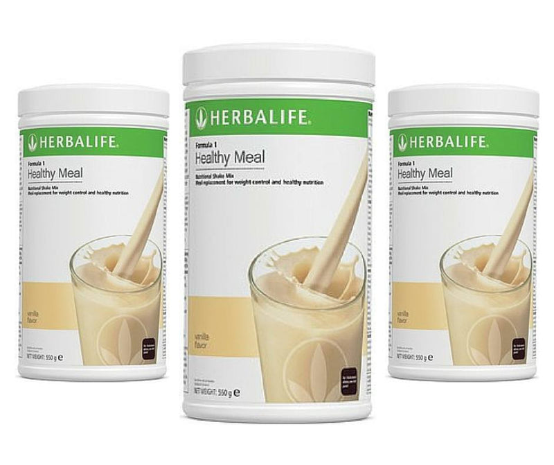 3 X Herbalife Formula 1 - Healthy Shake BUNDLE UP SPECIAL
