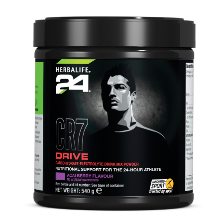 H24 CR7 Drive - Canister 20 servings Acai Berry