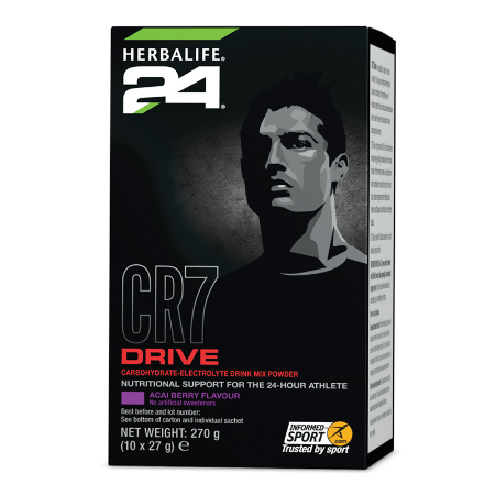 H24 CR7 Drive - Sachets 10 servings Acai Berry