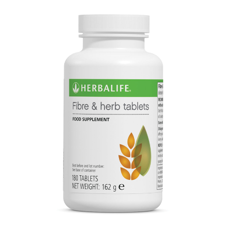 Herbalife Fibre & Herb Tablets (180 Tablets)
