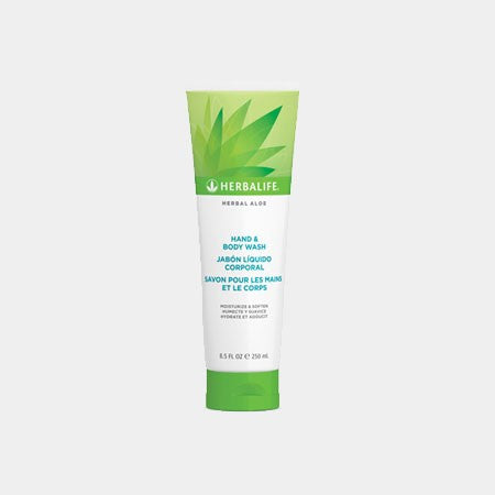 Herbal Aloe Hand & Body Wash (250ml)