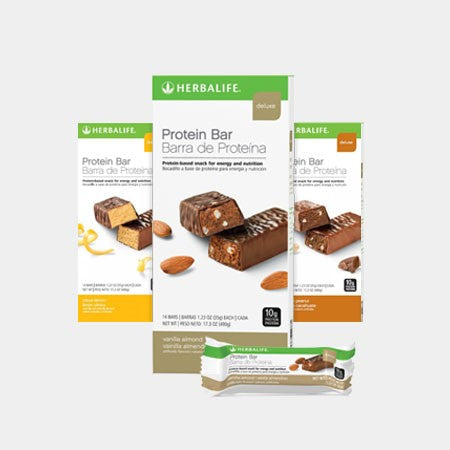 TRIPLE BUY 3 x Herbalife Protein Bars (42 Bars)