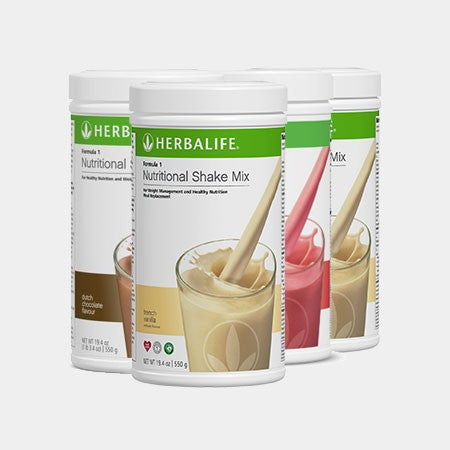 TRIPLE BUY 3 x Herbalife Formula 1 - Meal Replacement