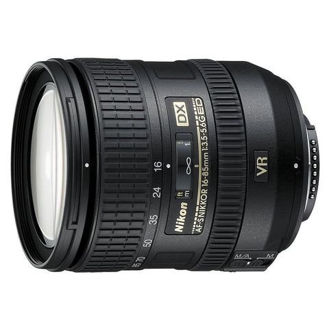 Nikon 16-85mm f/3.5-5.6 G ED VR AF-S DX Nikkor Lens (Retail Packing)