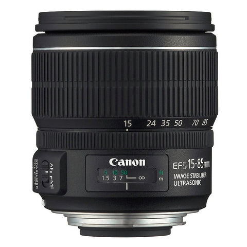 Canon EF-S 15-85mm f/3.5-5.6 IS USM Lens (No Packing)