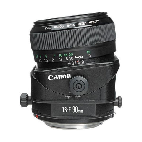 Canon Tilt Shift TS-E 90mm f/2.8 Manual Focus Lens for EOS