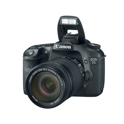Canon EOS 7D SLR Digital Camera with EF-S 18-135mm f/3.5-5.6 IS Lens Kit