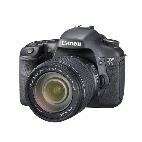 Canon EOS 7D Camera with EF-S 15-85mm IS USM Lens Kit Multi Language