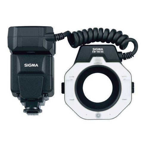 Sigma EM-140 DG TTL Macro Ringlight Flash with E-TTL II