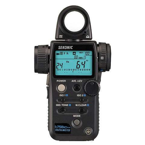 Sekonic L-758C Cine Light Meter CE Version (CE Version)