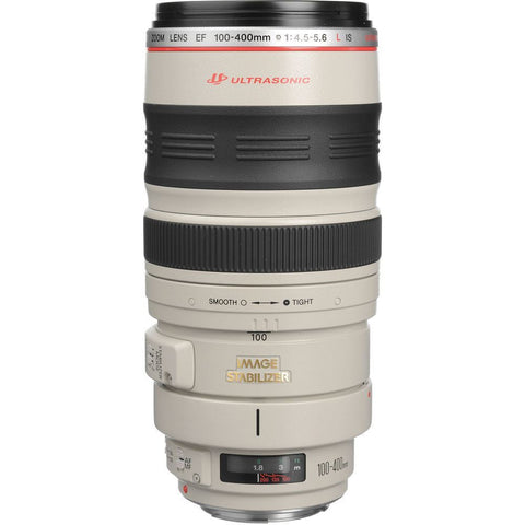 Canon Telephoto EF 100-400mm f/4.5-5.6 L IS Image Stabilizer USM Lens