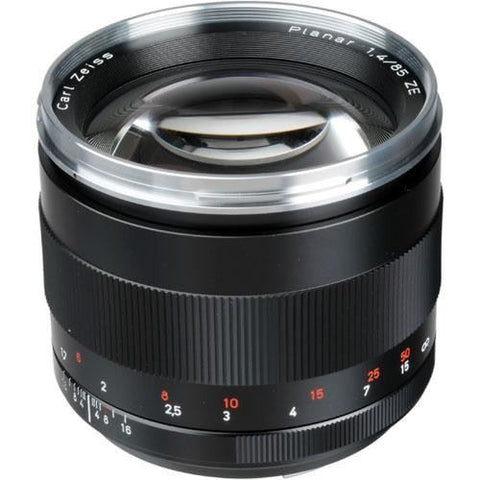 Zeiss 85mm f/1.4 ZE Planar T* Manual Focus Lens