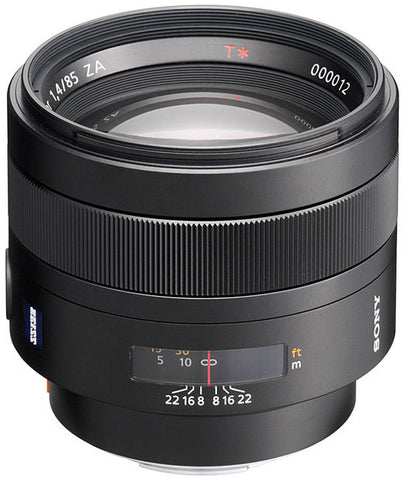 Sony 85mm f/1.4 Carl Zeiss Planar T* Prime Lens