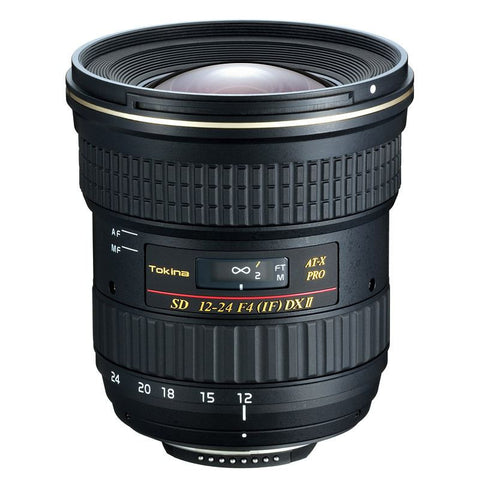 Tokina 12-24mm f/4 AT-X 124 AF Pro DX Mark II Lens