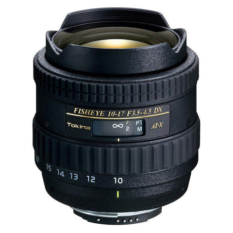 Tokina 10-17mm f/3.5-4.5 AT-X 107 DX AF Fisheye Lens