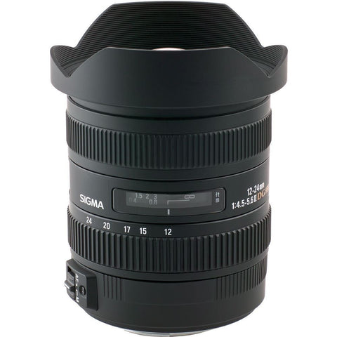 Sigma 12-24mm F4.5-5.6 II DG HSM Wide-Angle Zoom Lens