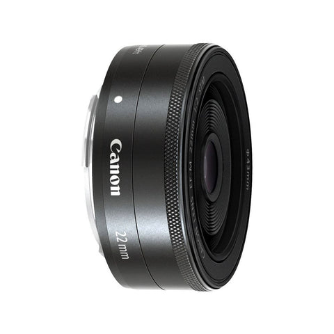 Canon EF-M 22mm f/2.0 STM Wide Angel Pancake Lens for EOS M M2