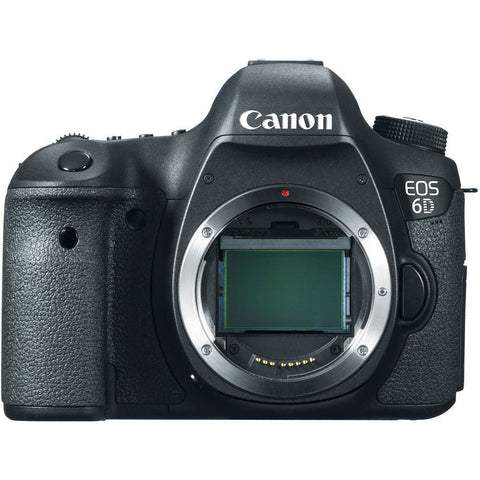 Canon EOS 6D 20.2 MP Digital SLR Camera Body Multi Language
