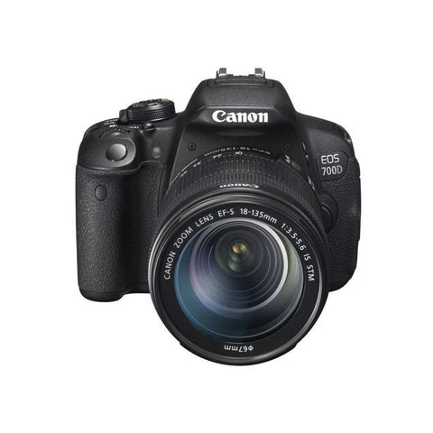 Canon EOS 700D 18.0 MP DSLR Camera With EF-S 18-135mm STM Lens Kit