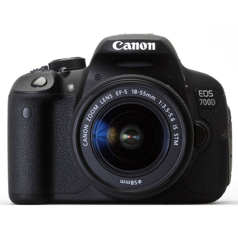 Canon EOS 700D 18.0 MP DSLR Camera With EF-S 18-55mm STM Lens Kit