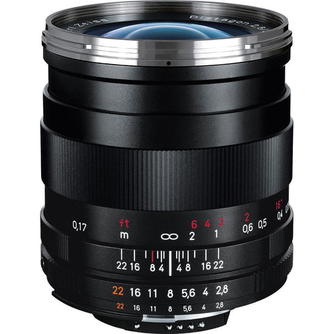 Zeiss Distagon T* 25mm f/2.8 ZF.2 Lens for Mount