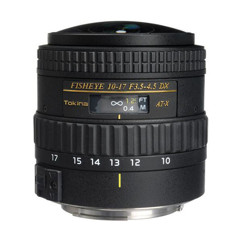 Tokina AT-X 107 AF DX NH Fisheye 10-17mm f/3.5-4.5 Lens