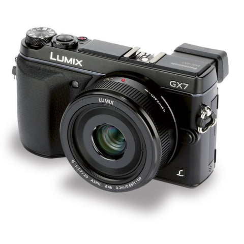 Panasonic Lumix DMC-GX7 16.0 MP Camra Kit with 20mm II Lens