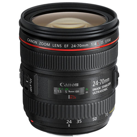 Canon EF 24-70mm f/4.0 L IS USM Standard Zoom Lens White Box